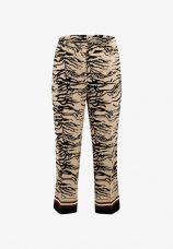 Claire zebra sand bukser