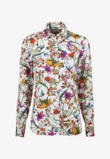 Sofie Shirt tropical flowers